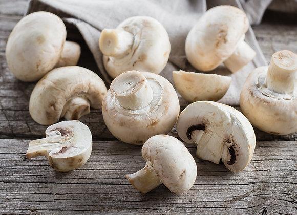 Risotto al parmigiano con funghi trifolati