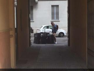 Arrivo in Italia