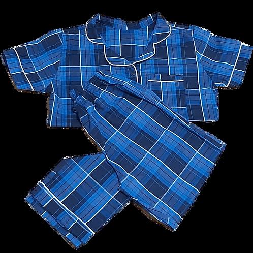 alba xadrez azul