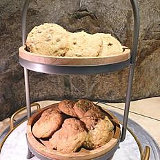 Homemade assorted Cookie platter