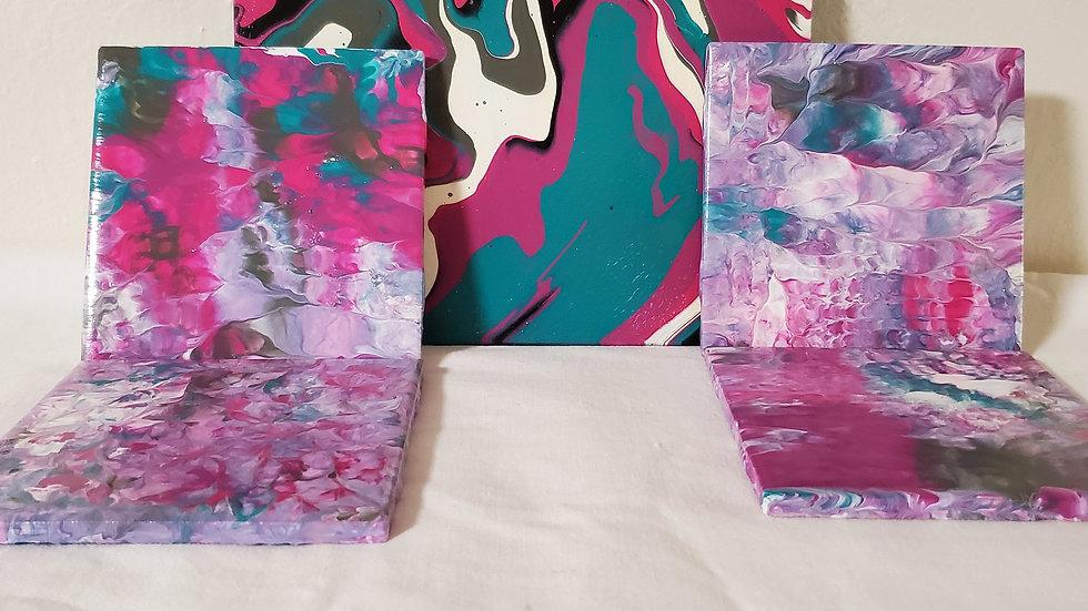 Coasters & Trivet Set