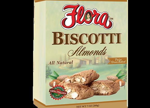 Biscotti Crisp Almonds FLORA