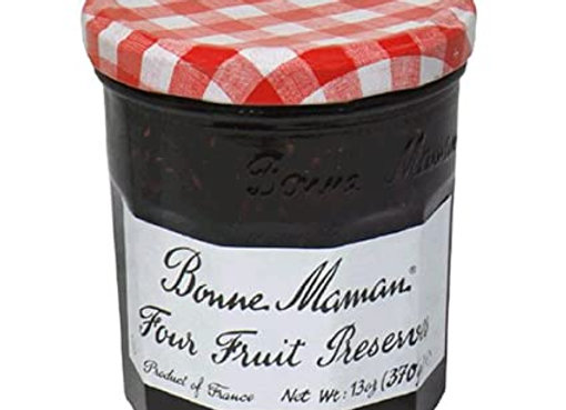 Four fruit Preserves BON MAMAN-Kosher