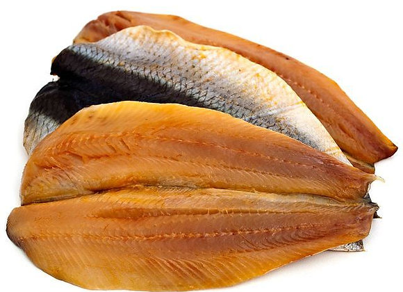 Scottish Smoked Kipper Fillets weighed by the KG