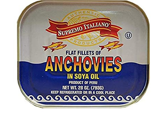 Anchovy Fillets In Soy Oil