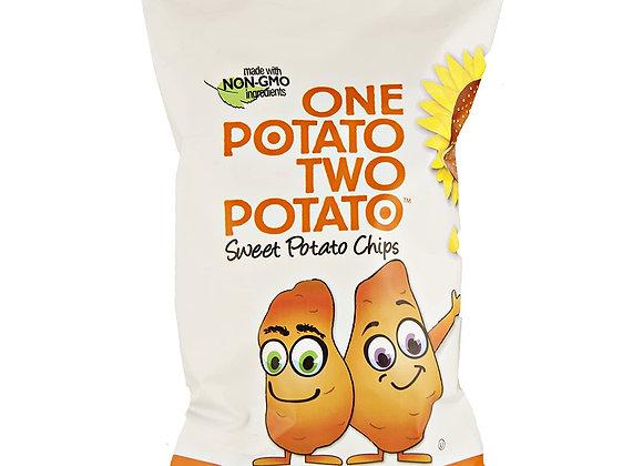 Sweet Potato Chips ONE POTATO TWO POTATO