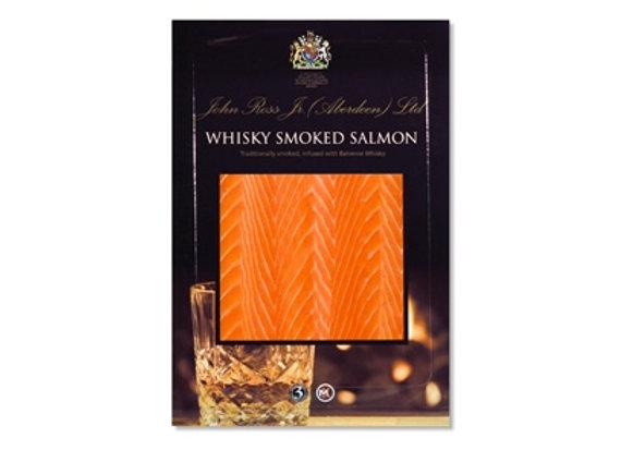 Whiskey smoked Salmon D Cut
