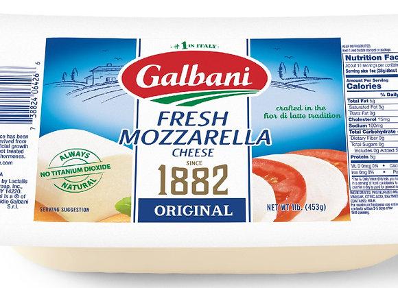 Fresh Mozzarella log cryovac GALBANI