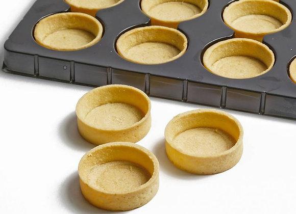 "Round savory mini  tart shell 1.3"" MODA (special order)"