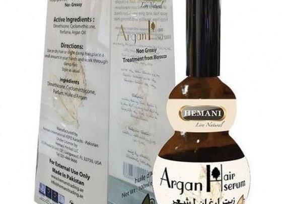 Argan hair serum HEMANI