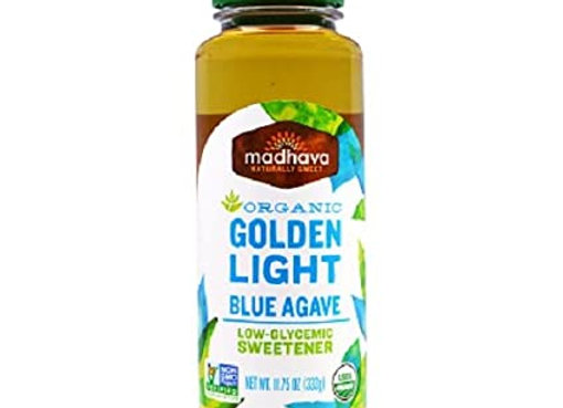 Vegan Organic Golden light agave MADHAVA