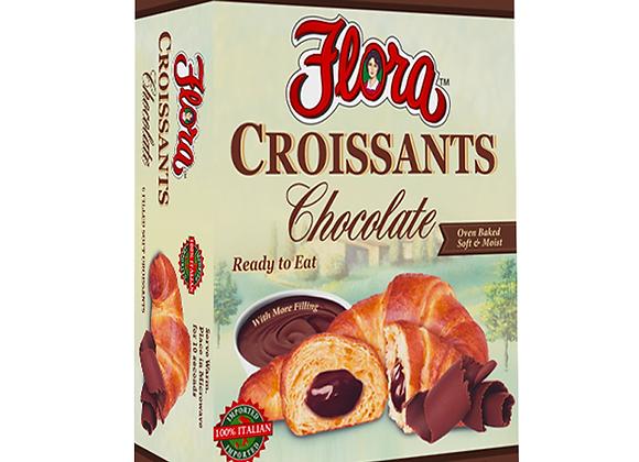 Croissant w/chocolate FLORA