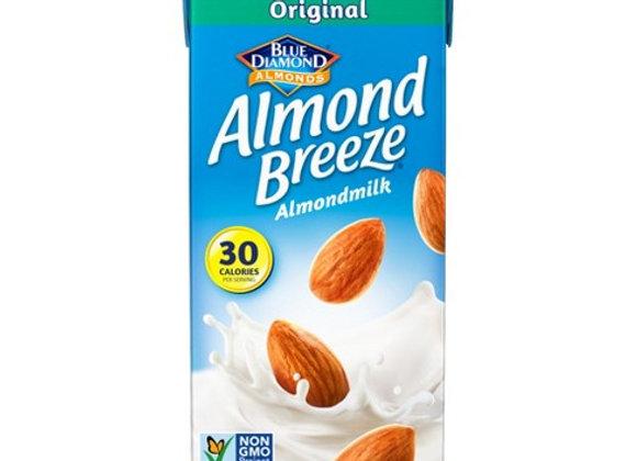 Almond milk unsweetened original  BLUE DIAMOND