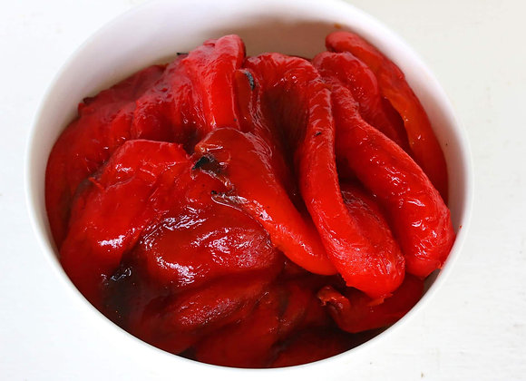 Fire Roasted Red Peppers FRONTE sold per can