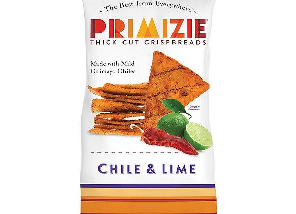 Flat bread crisps chimayo,chile & lime PRIMIZIE