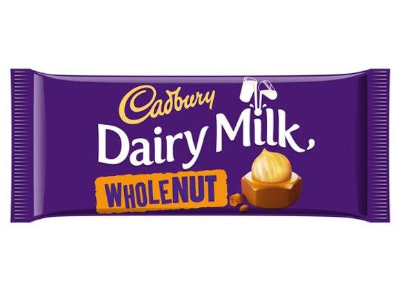 Cadbury Whole Nut 120g