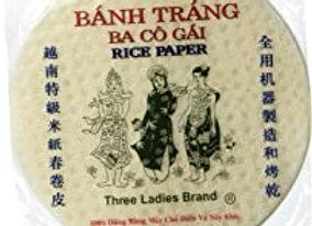"""Rice paper 22"""" round ELEPHANT"""