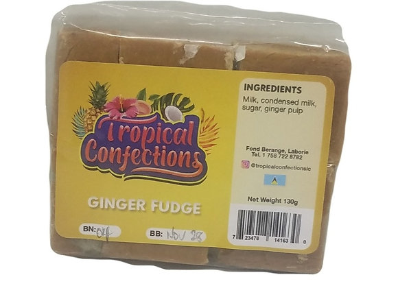 Ginger Fudge TROPICAL CONFECTIONS