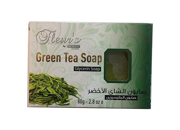 Green tea glycerin soap HEMANI