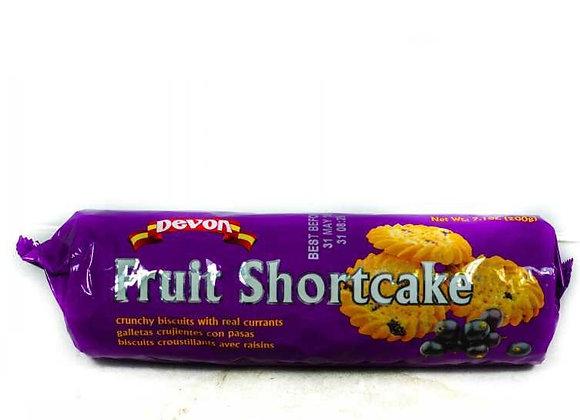 Devon Fruit SCake Biscuits200g