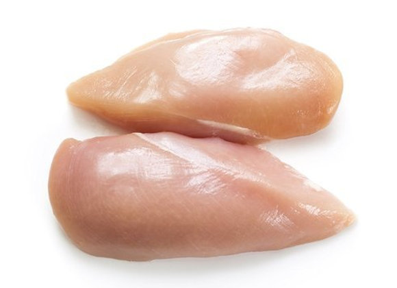 Chicken Breast Boneless Skinless weighed by the KG