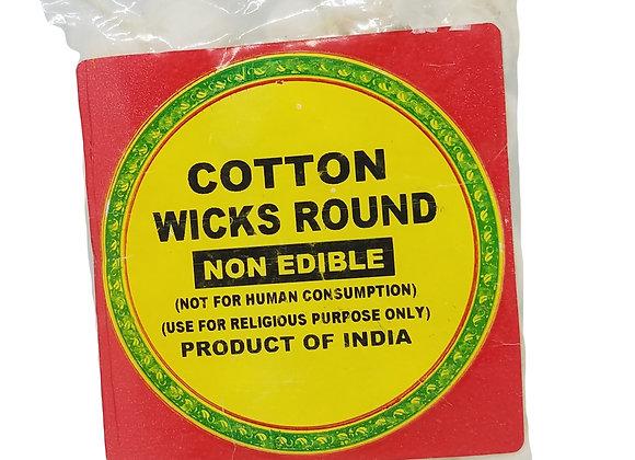 Cotton Wick Round