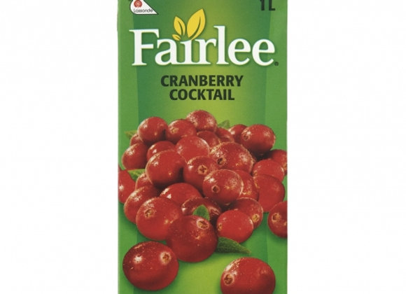 Fairlee Cranberry Cocktail