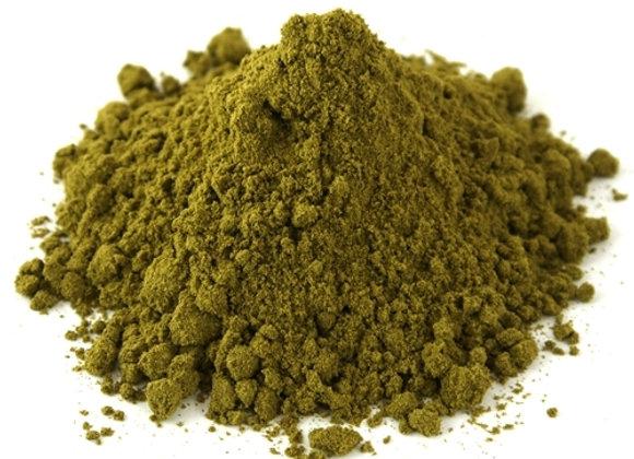 Hemp Protein powder weighed by the KG