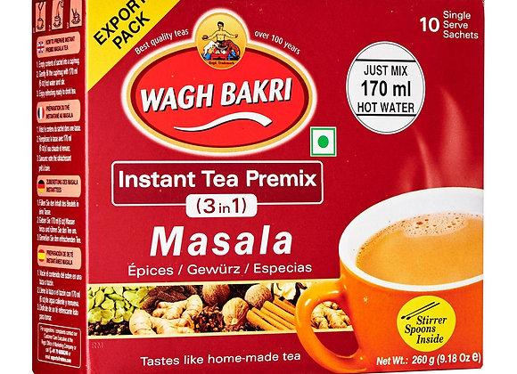 Unsweetened masala chai instant tea WAGHBAKRI