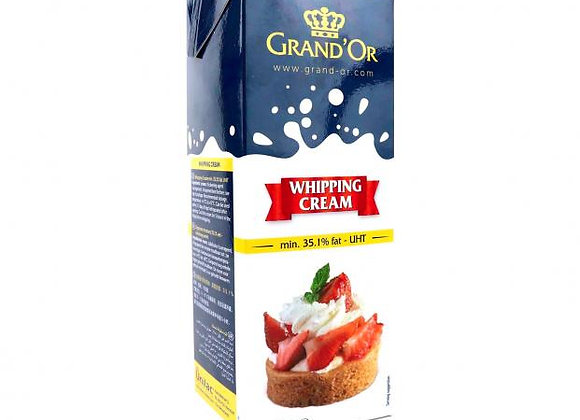 Whipping cream 35.1% GRAND'OR