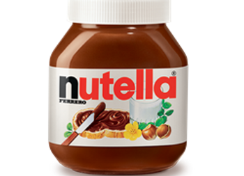 Nutella Hazelnut Spread Jar FERRERO