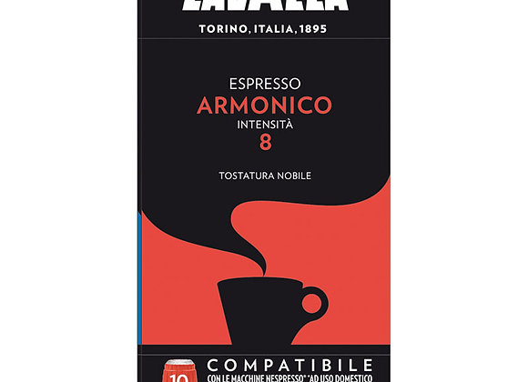 Armonico Espresso LAVAZZA (Nespresso Compatible) - Intensity 8