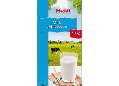 UHT Full Cream 3.5% Slim Line Screw Cap FRISCHLI