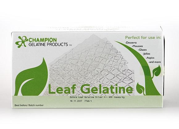 Silver Sheet Gelatin CHAMPION (400 sheets)