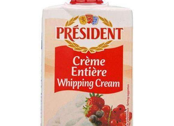 Uht Cream W Screw Top PRESIDENT