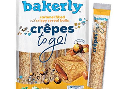 Crunchy crepes caramel filled BAKERLY