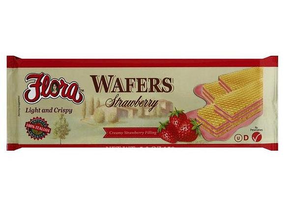 Strawberry wafer FLORA
