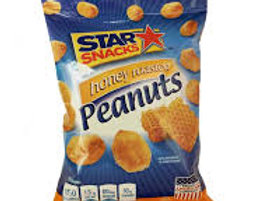 Honey roasted peanuts STAR SNACKS