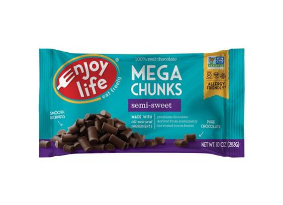 Vegan Semi-sweet mega Chips Baking Chocolate ENJOY LIFE