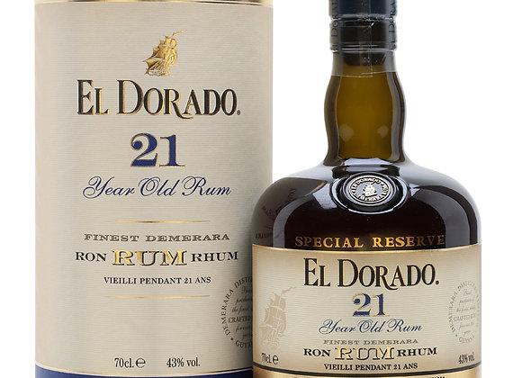 El Dorado  Rum 21years old
