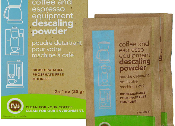 Urnex Full Circle Espresso Descaling Powder (2 pkts/box) priced per packet