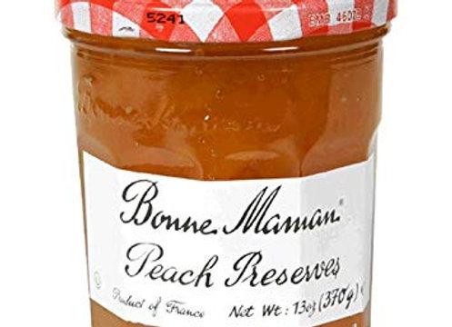 Peach Preserve BON MAMAN -Kosher