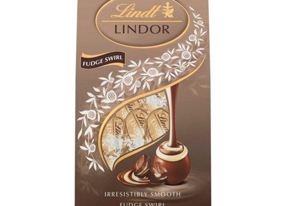 Fudge Swirl LINDT (12 truffles per packet)
