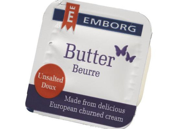 Unsalted Butter Portions EMBORG