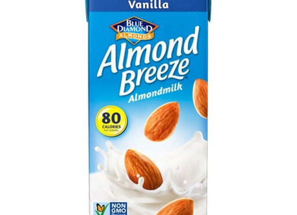 Almond milk unsweetened vanilla BLUE DIAMOND