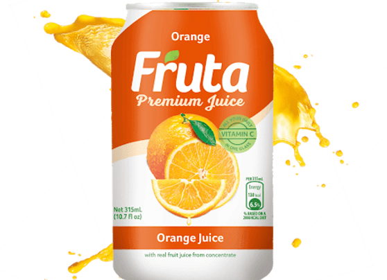 Fruta Orange Can 315ml