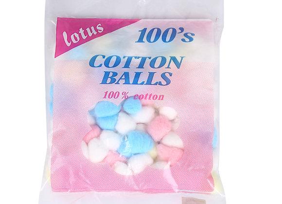 Lotus 100 cotton balls