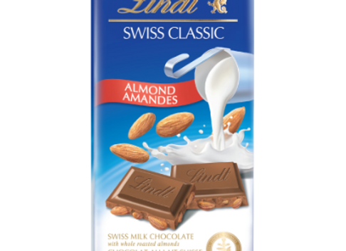 Classic Milk with Almonds LINDT