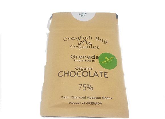 Organic chocolate 75%