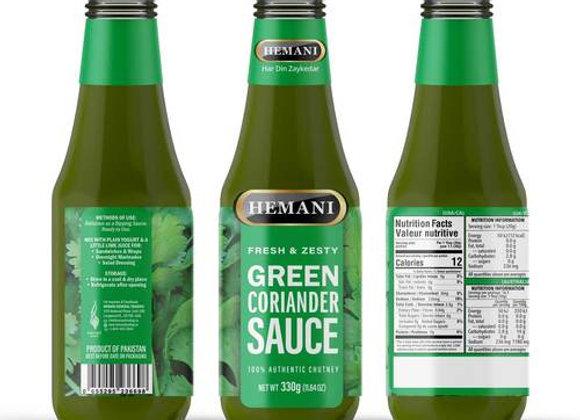 Green coriander sauce HEMANI
